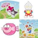 Window stickers Sets, 10 sheets, [001STK0083]